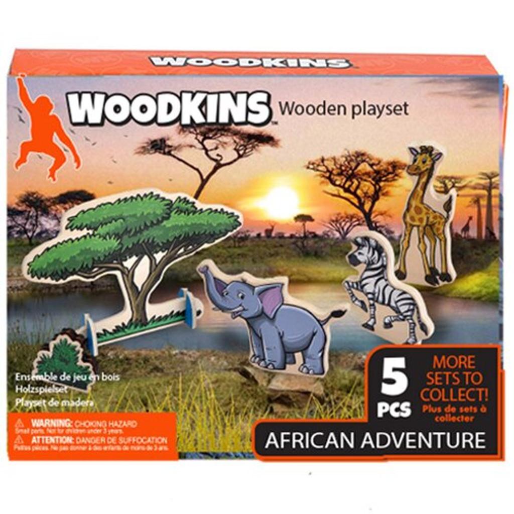 Woodkins African Adventure Box