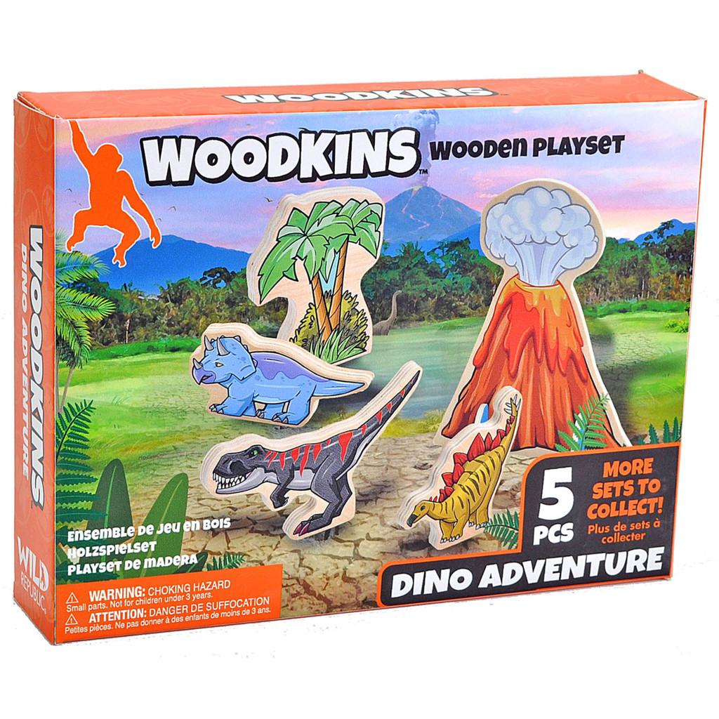 Woodkins Dino Adventure box