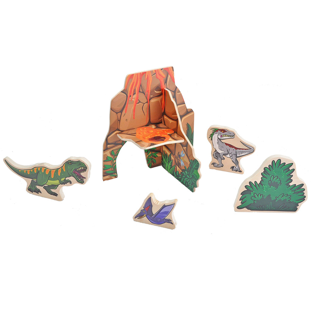 Woodkins Dino Mountain products