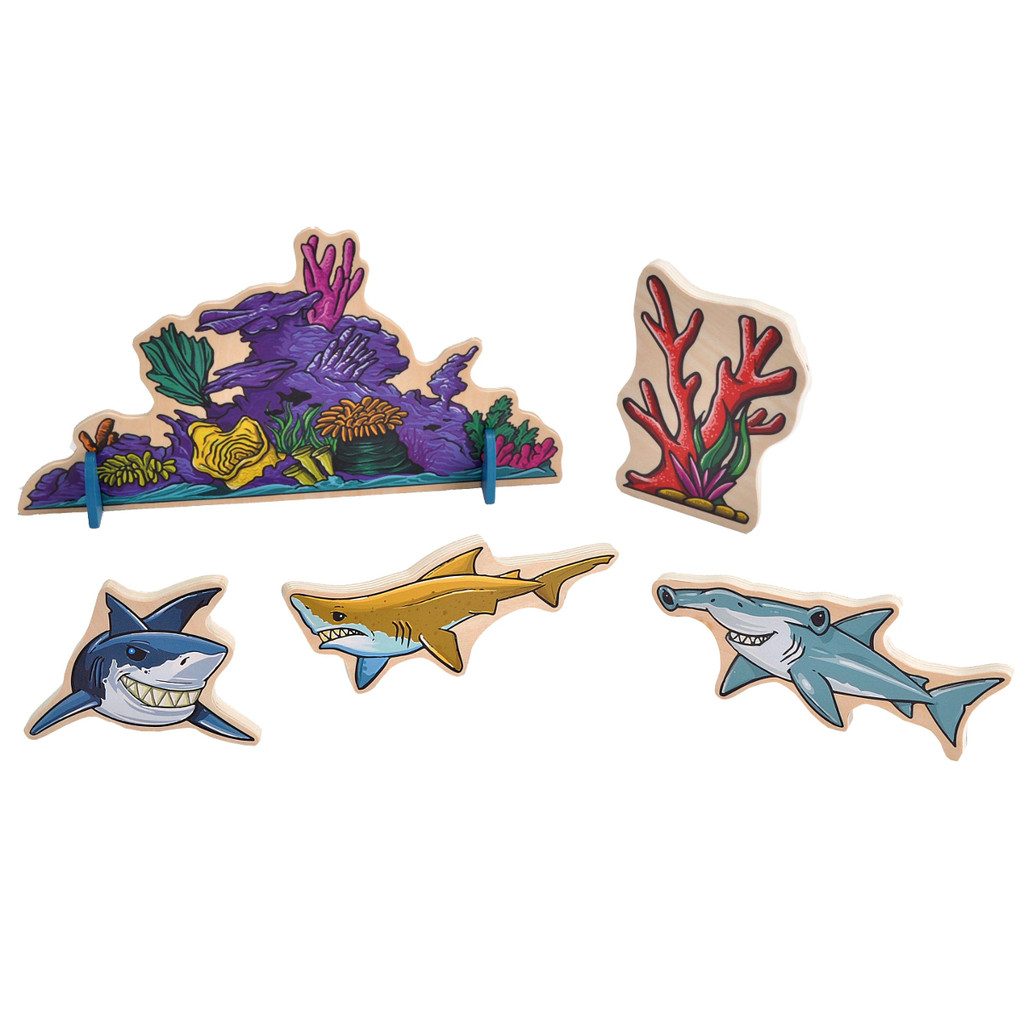 Woodkins Shark Adventure products