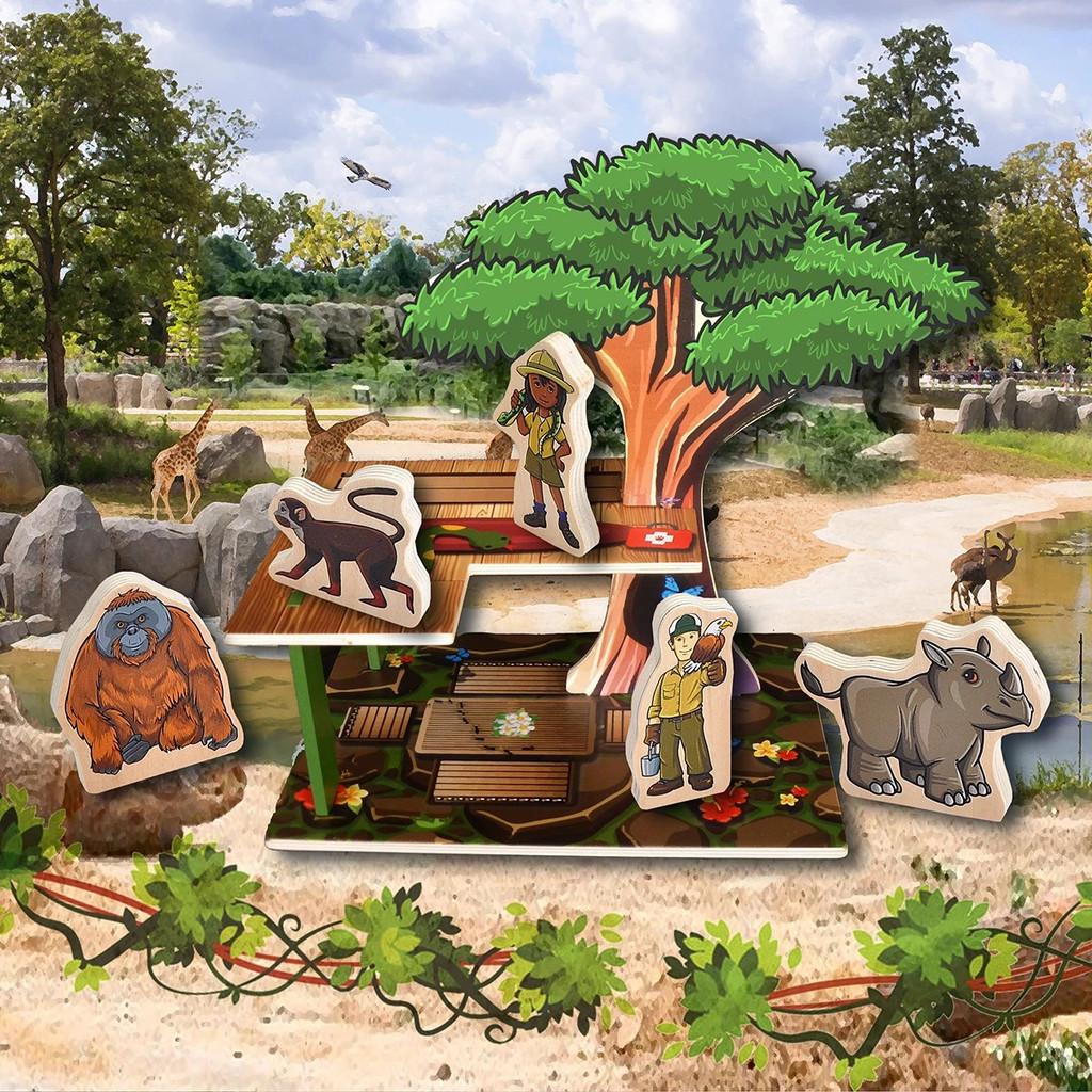 Woodkins Zookeeper lifestyle