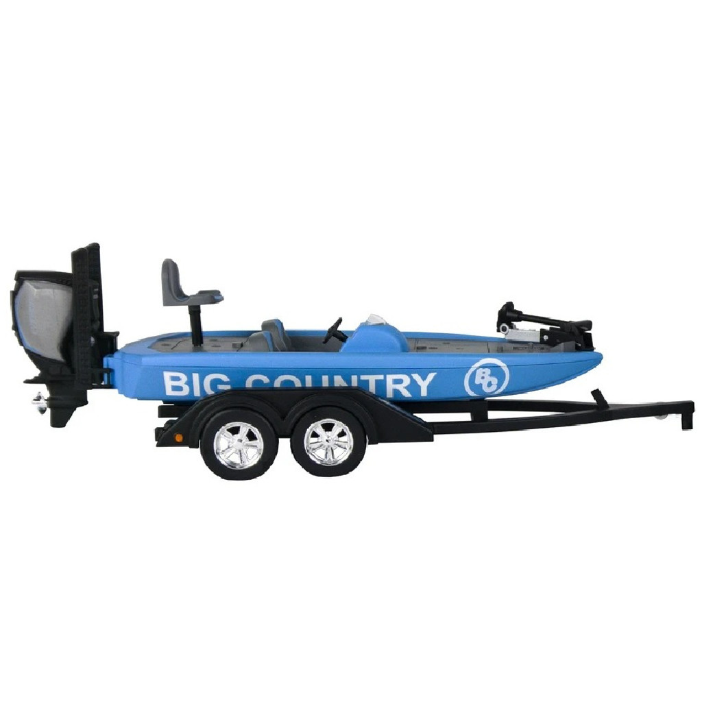 Bass Boat and Implements