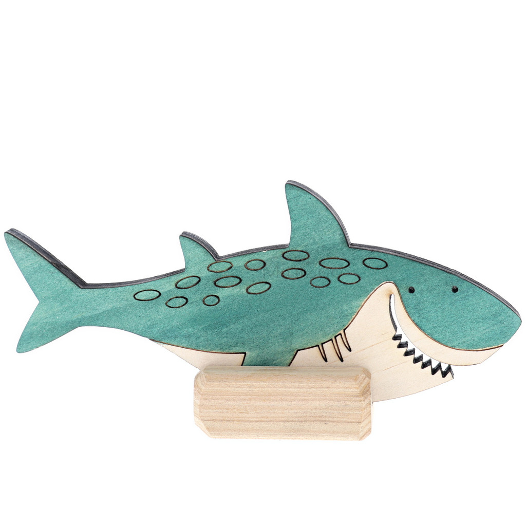 Let Them Play Storyscene Ocean Shark on stand