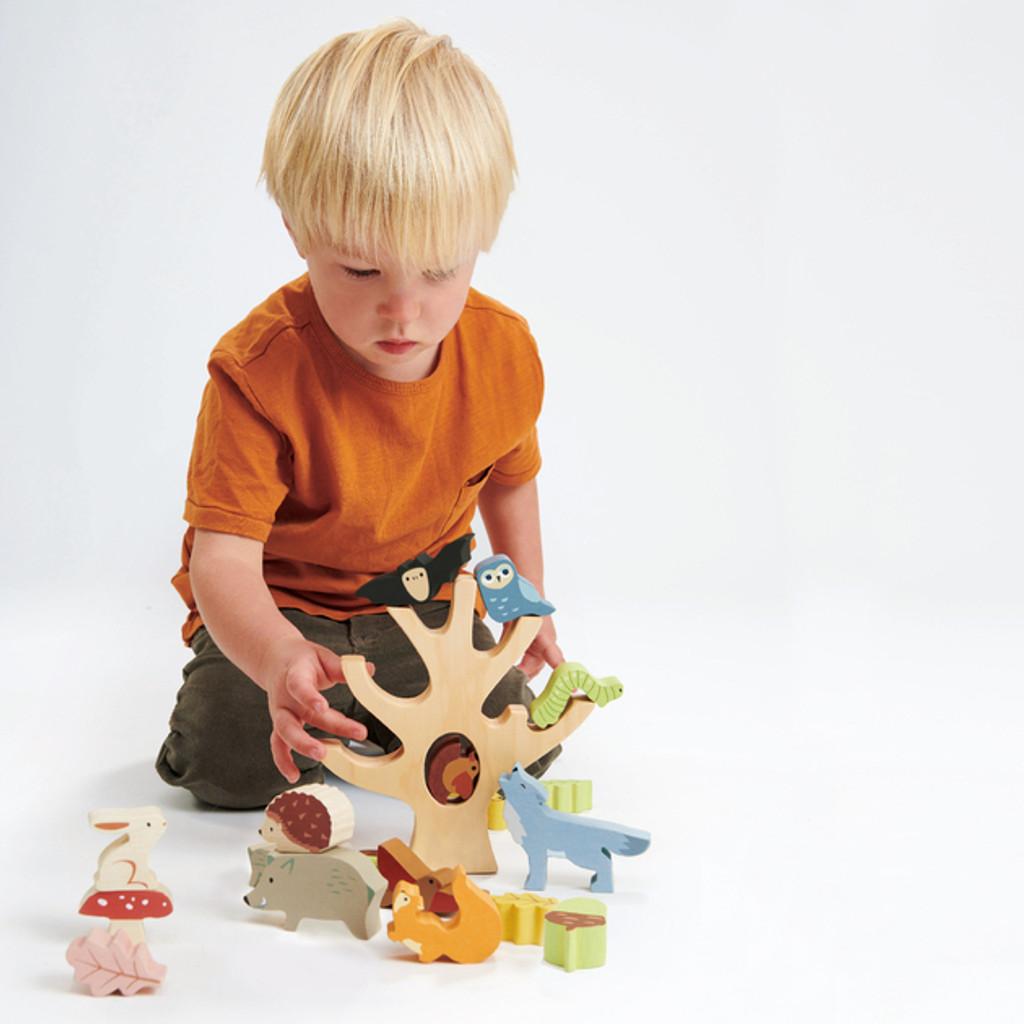 Tender Leaf Toys Stacking Forest