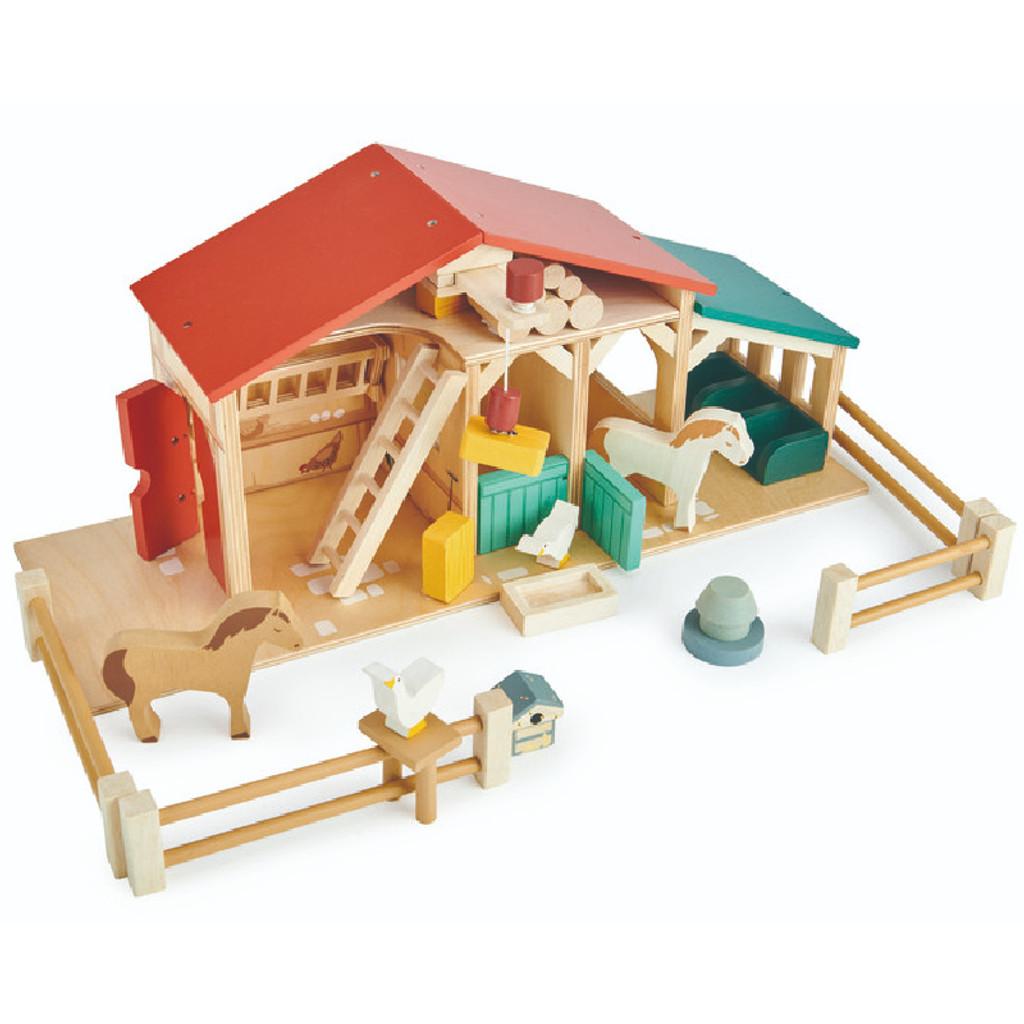 Tender Leaf Toys Farm angle