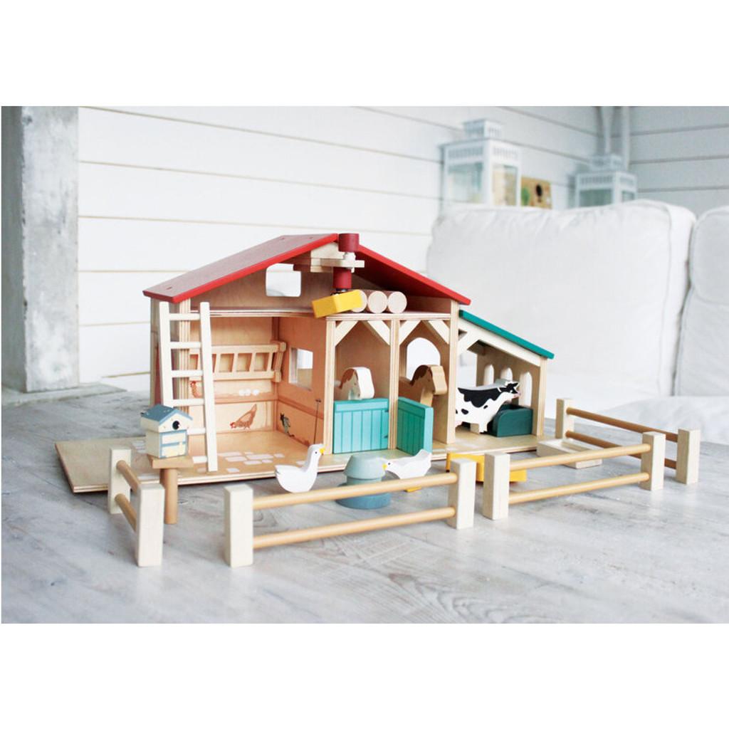 Tender Leaf Toys Farm lifestyle image