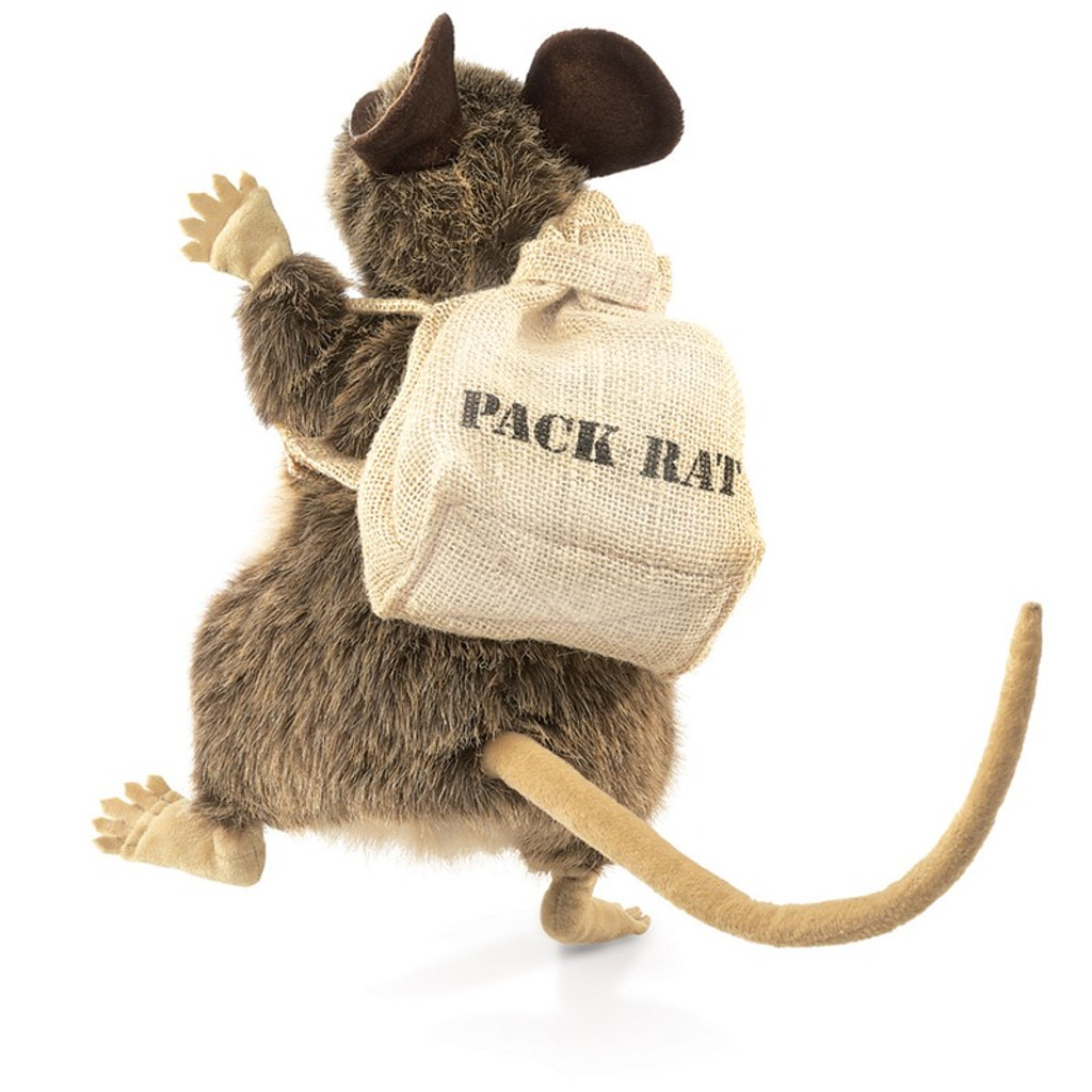 Rat Pack Hand Puppet