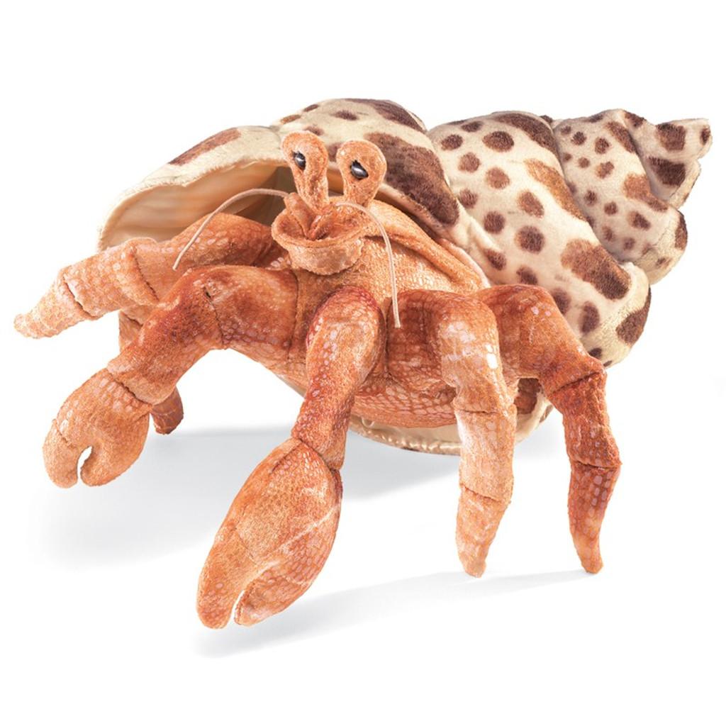 Hermit Crab Hand Puppet