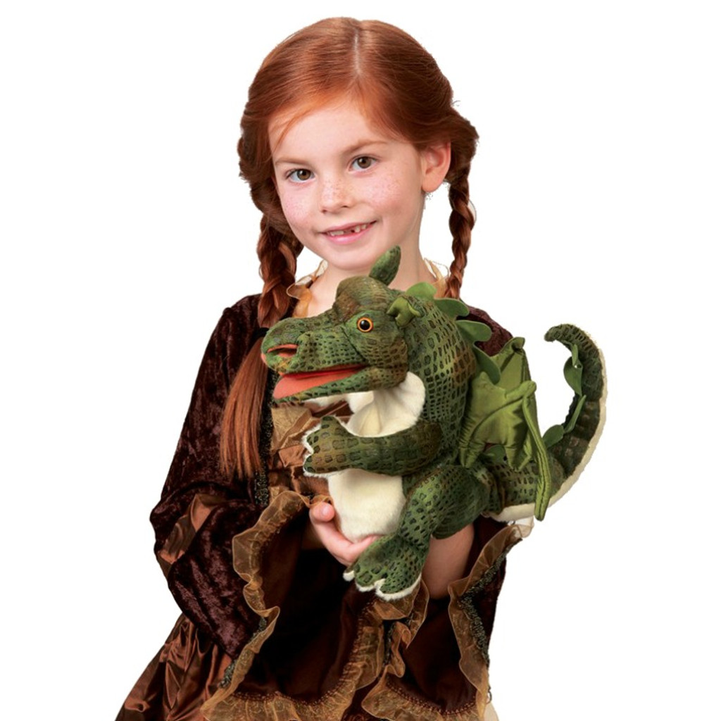 Folkmanis Dragon Baby Puppet