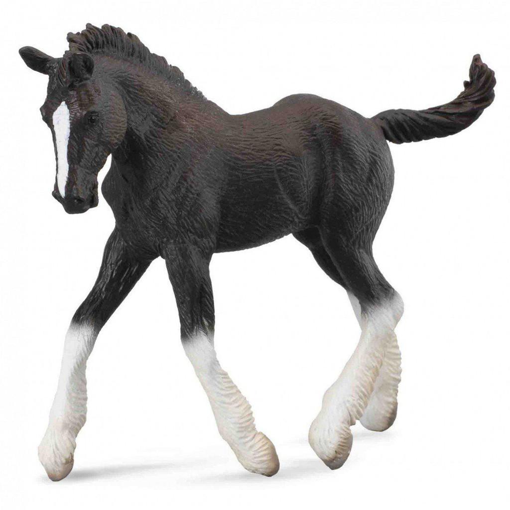 CollectA Shire Horse Foal Black