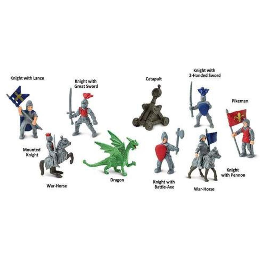 Safari Ltd Knights & Dragon Toob