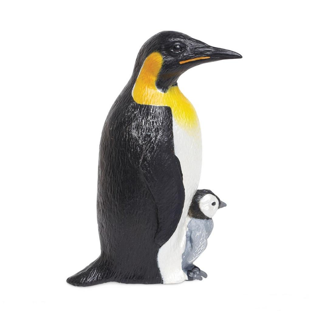 Safari Ltd Emperor Penguin with Baby IC