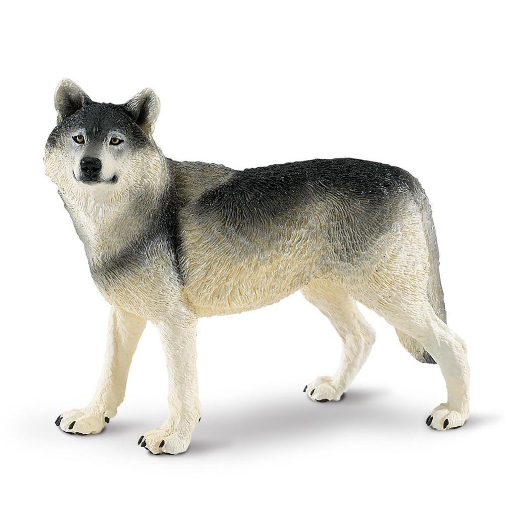 Safari Ltd Grey Wolf Jumbo