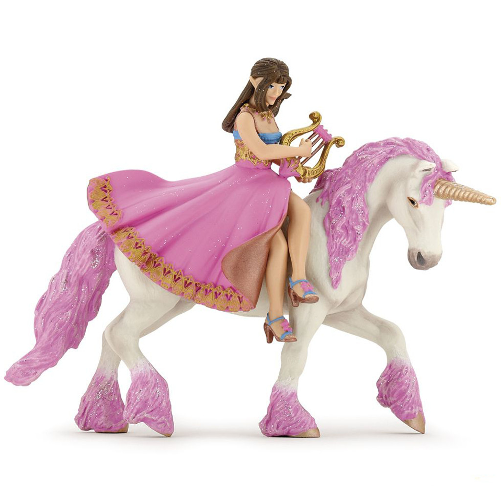 Papo Princess with Lyre on Horse