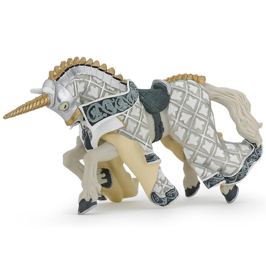 Papo Knight Unicorn Horse