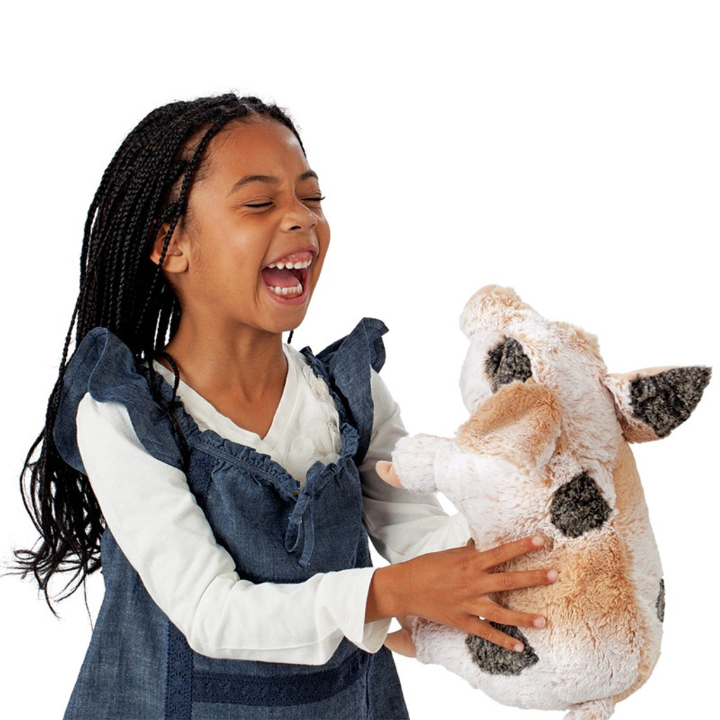 Folkmanis Pig Grunting Puppet