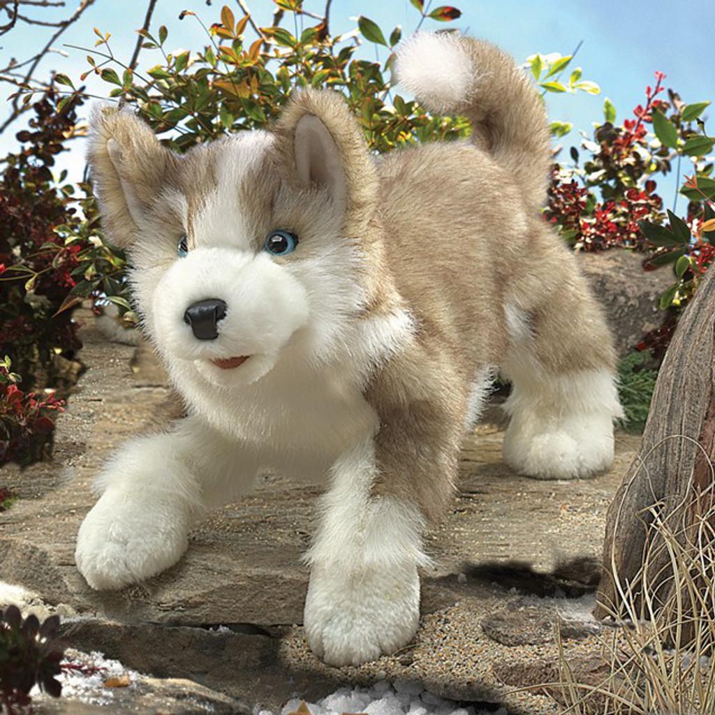 Wolf Pup Puppet
