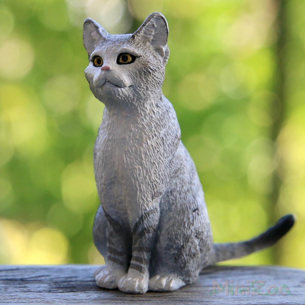 Schleich Cat, Sitting