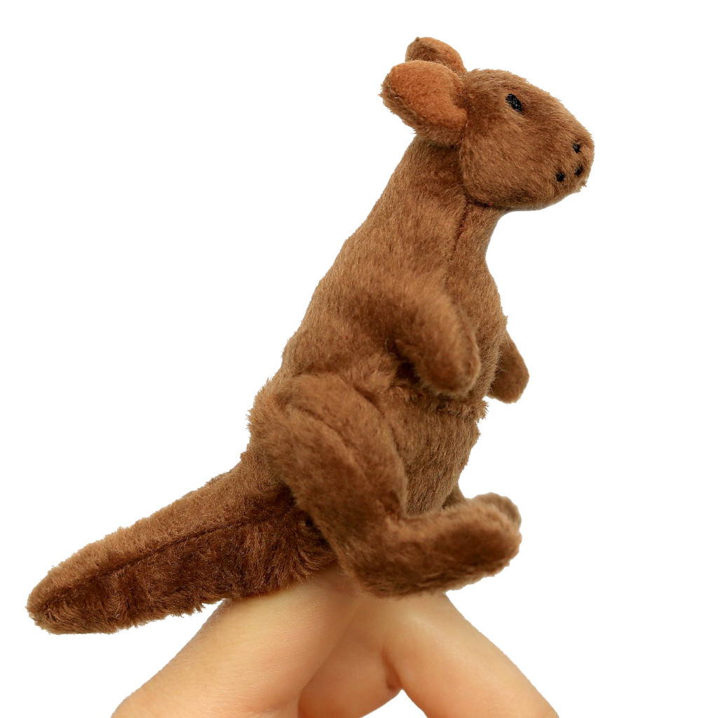 Science and Nature Kangaroo Finger Puppet
