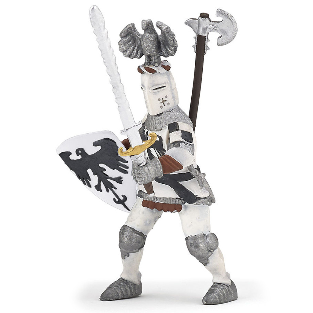 Crested Knight White