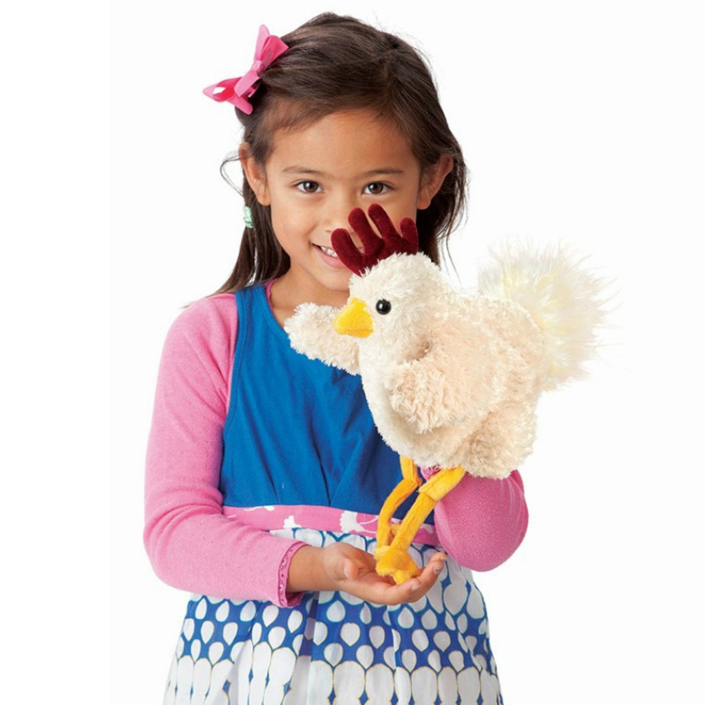 Funky Chicken Hand Puppet