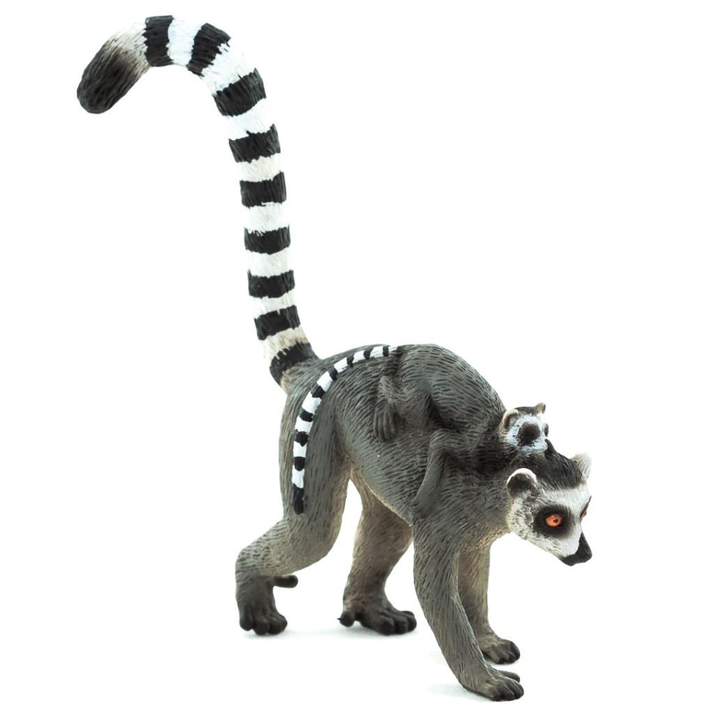 Mojo Ringtail Lemur with Baby