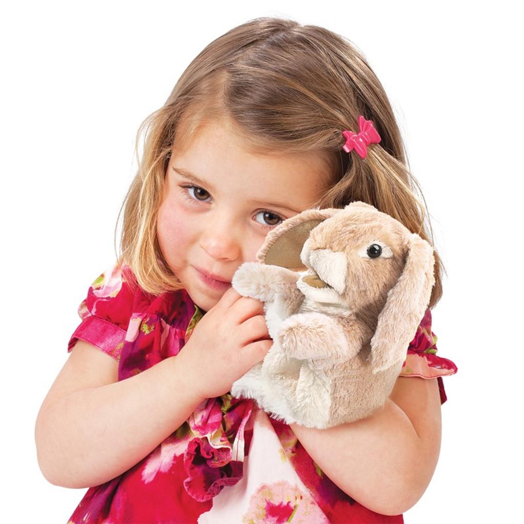 Folkmanis Little Lop Rabbit Puppet