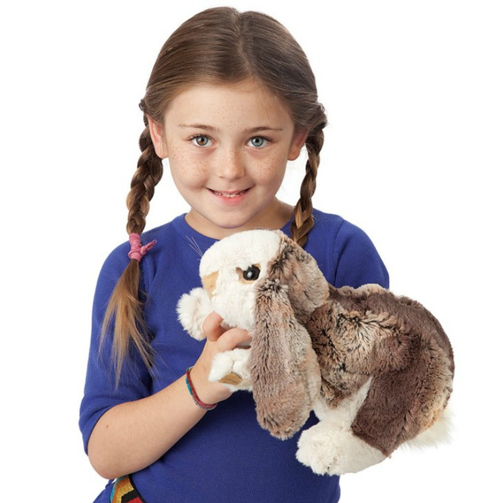 Folkmanis Baby Lop Rabbit Puppet