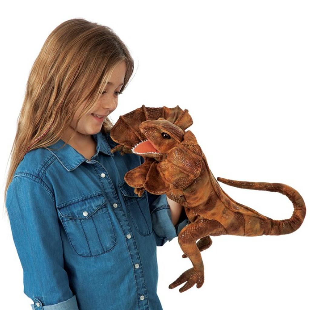Frilled Lizard Puppet