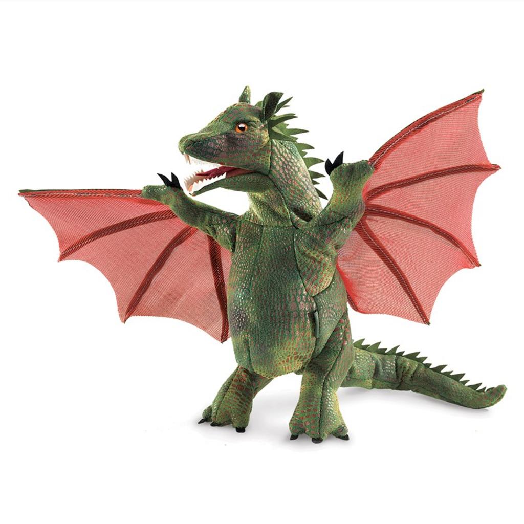 Folkmanis Winged Dragon Puppet