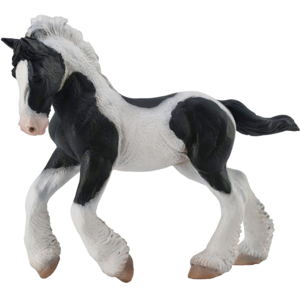 Gypsy Foal Black and White Piebald CollectA