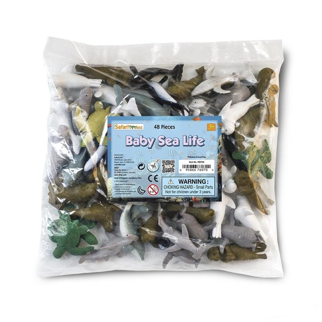 Safari Ltd Baby Sea Life Bulk Bag 48pc