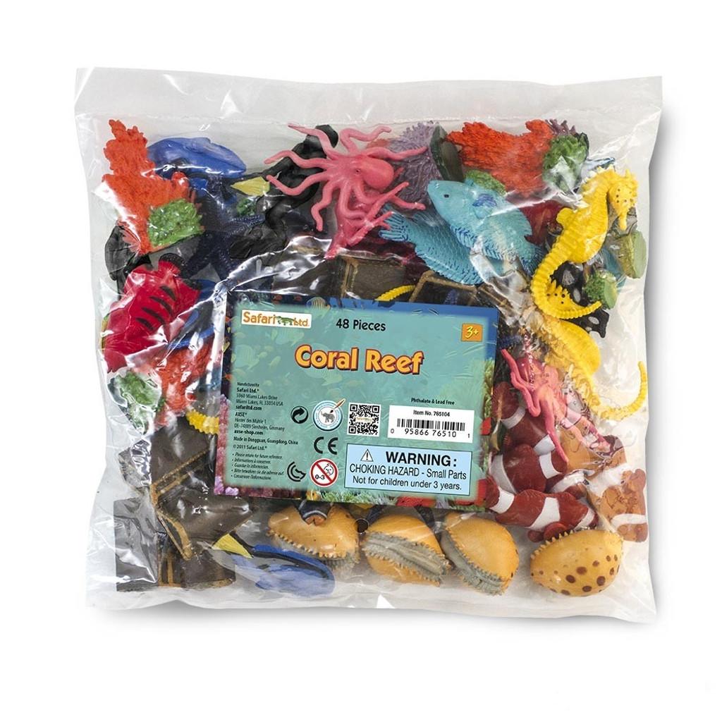 Safari Ltd Coral Reef Bulk Bag 48pc