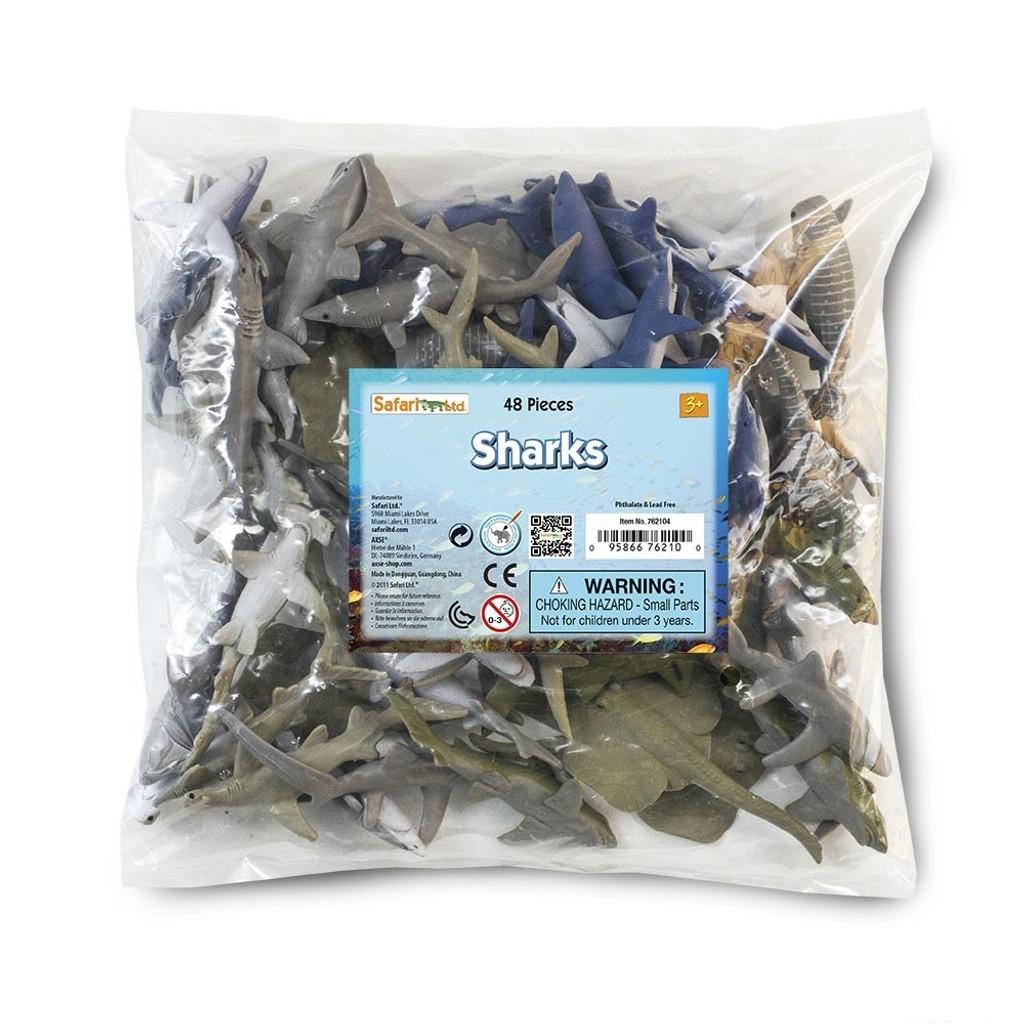Safari Ltd Sharks Bulk Bag 48pc