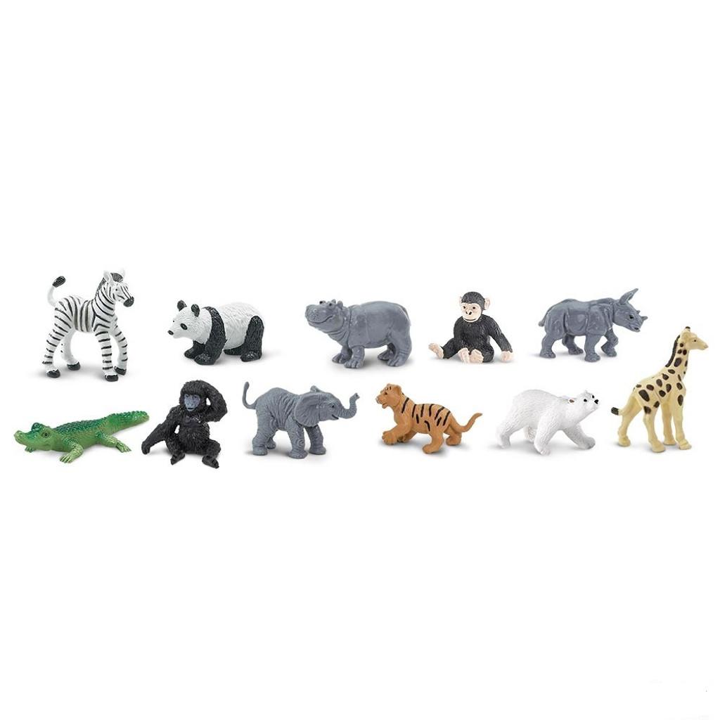 Safari Ltd Zoo Babies Bulk Bag 48pc