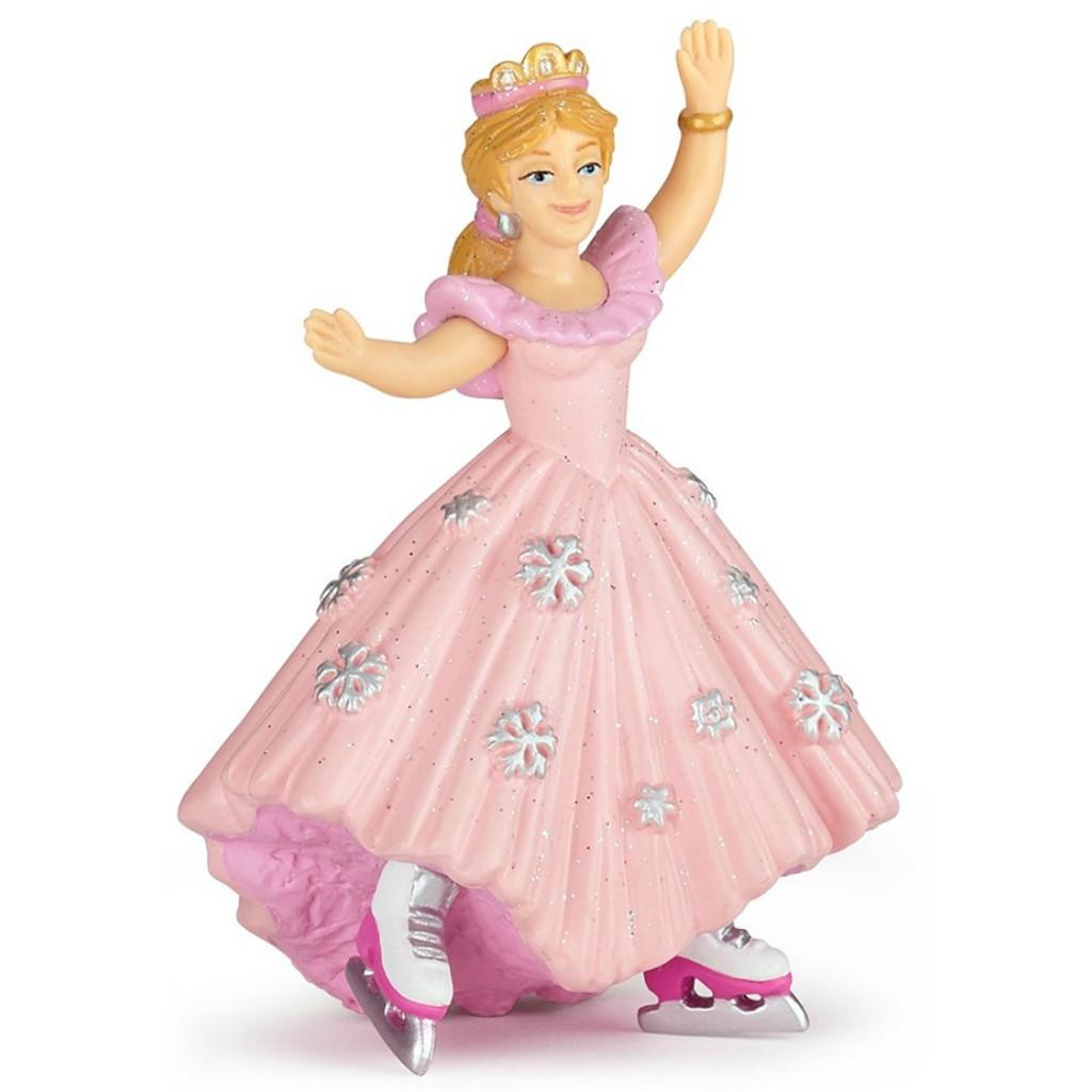 Papo Princess with Ice Skates Pink