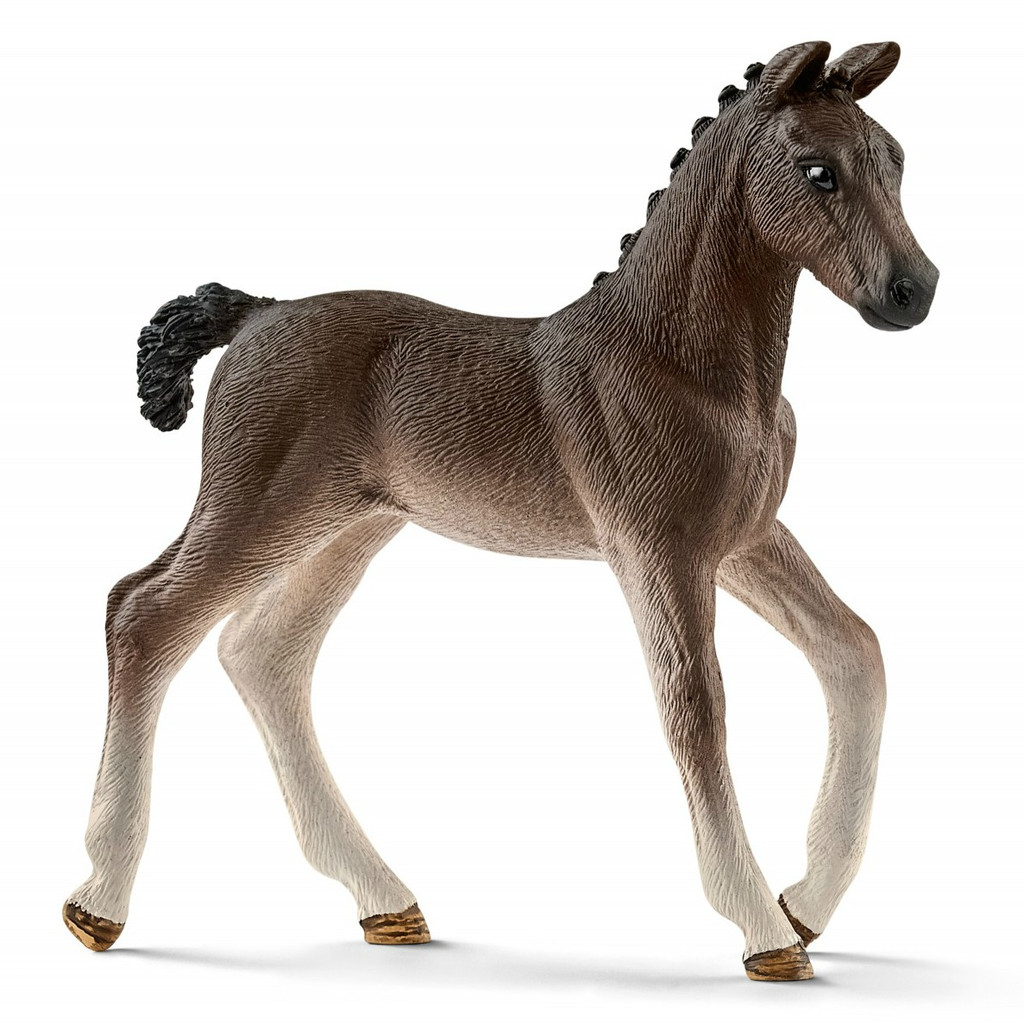 Schleich Mobile Vet with Hanoverian Foal