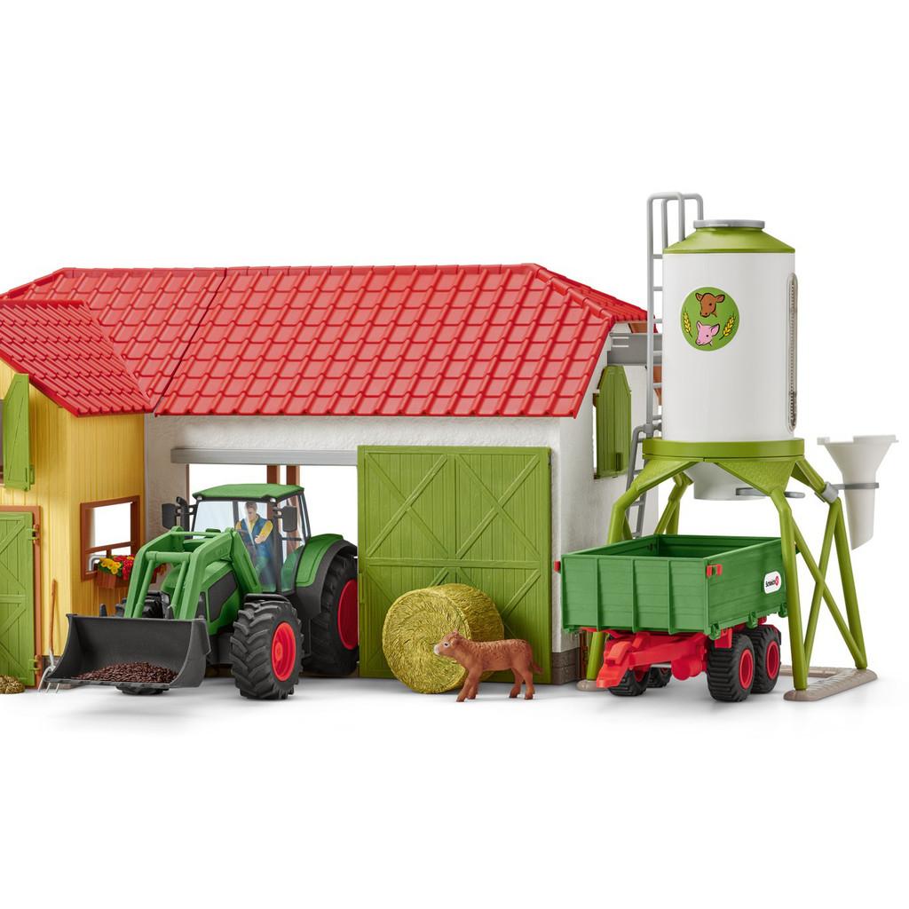 Schleich Tractor with Trailer