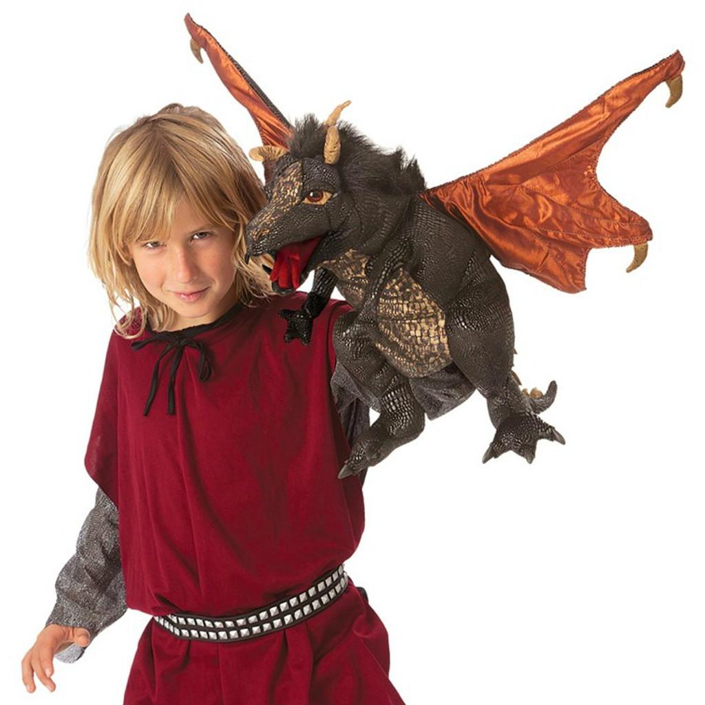 Black Dragon Puppet