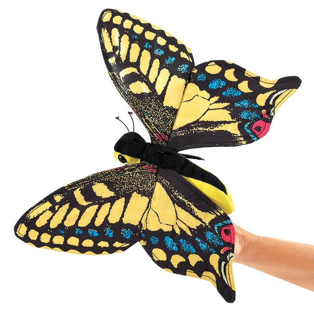 Swallowtail Butterfly Puppet