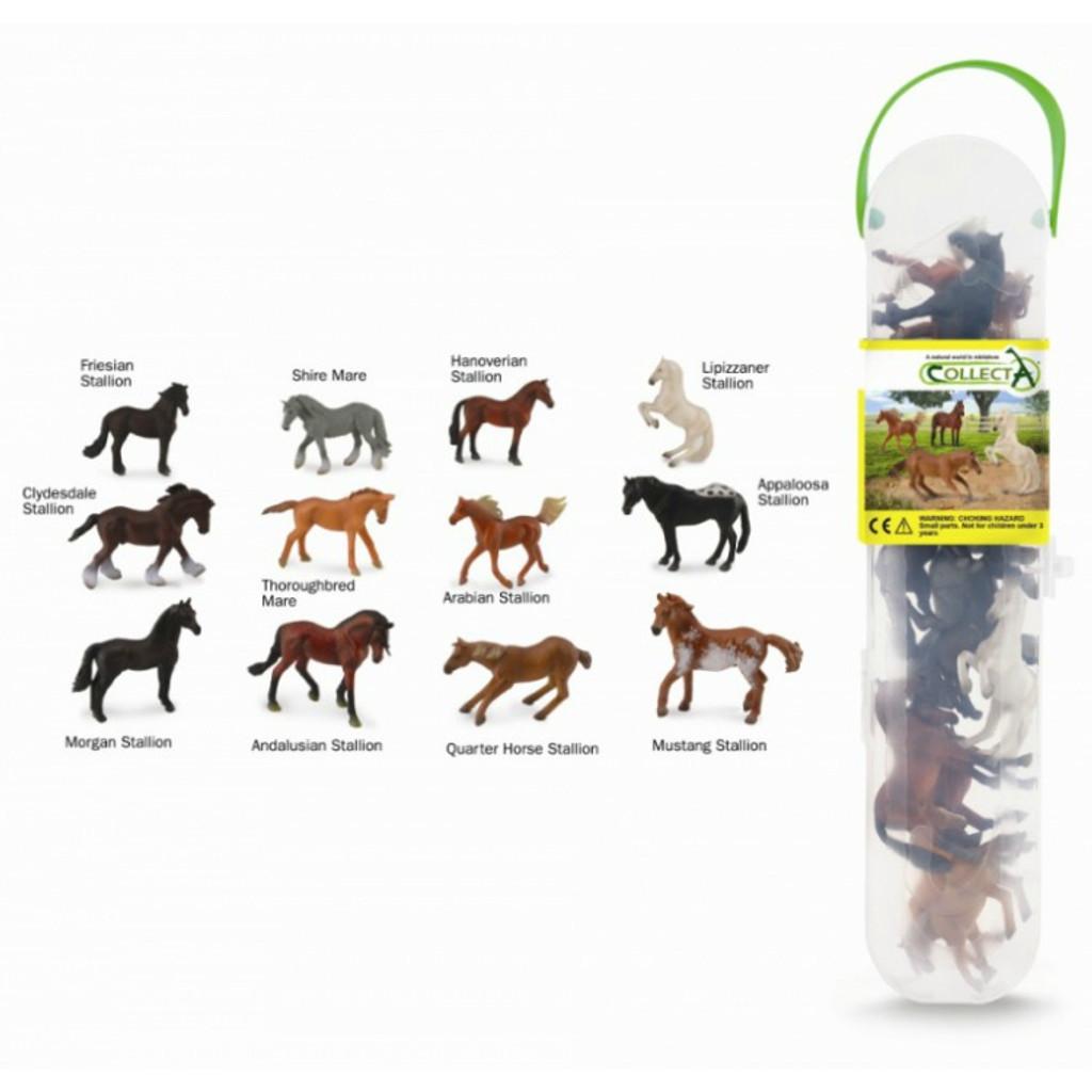 CollectA Horses Tube