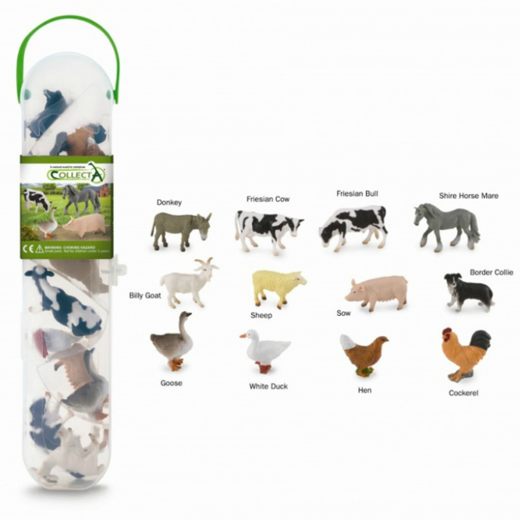 CollectA Farm Animals Tube