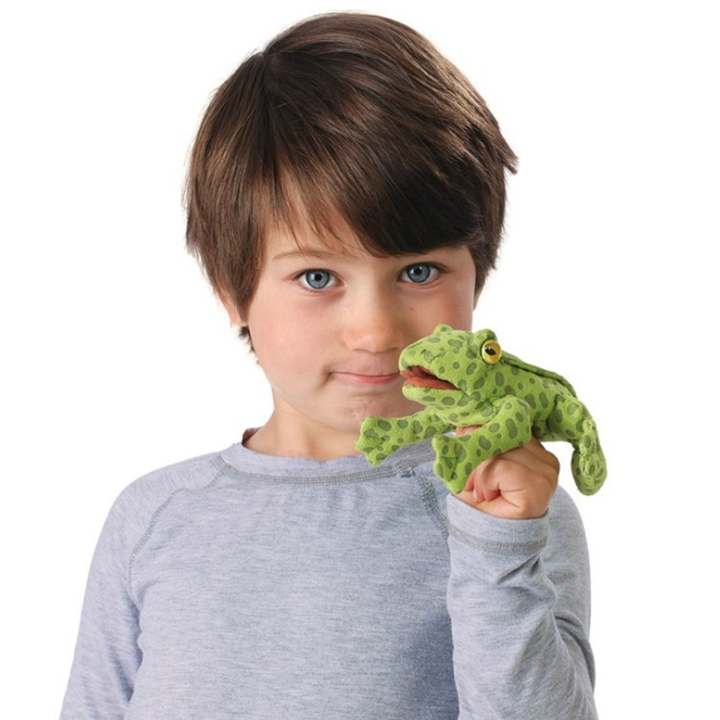 Frog Mini Finger Puppet