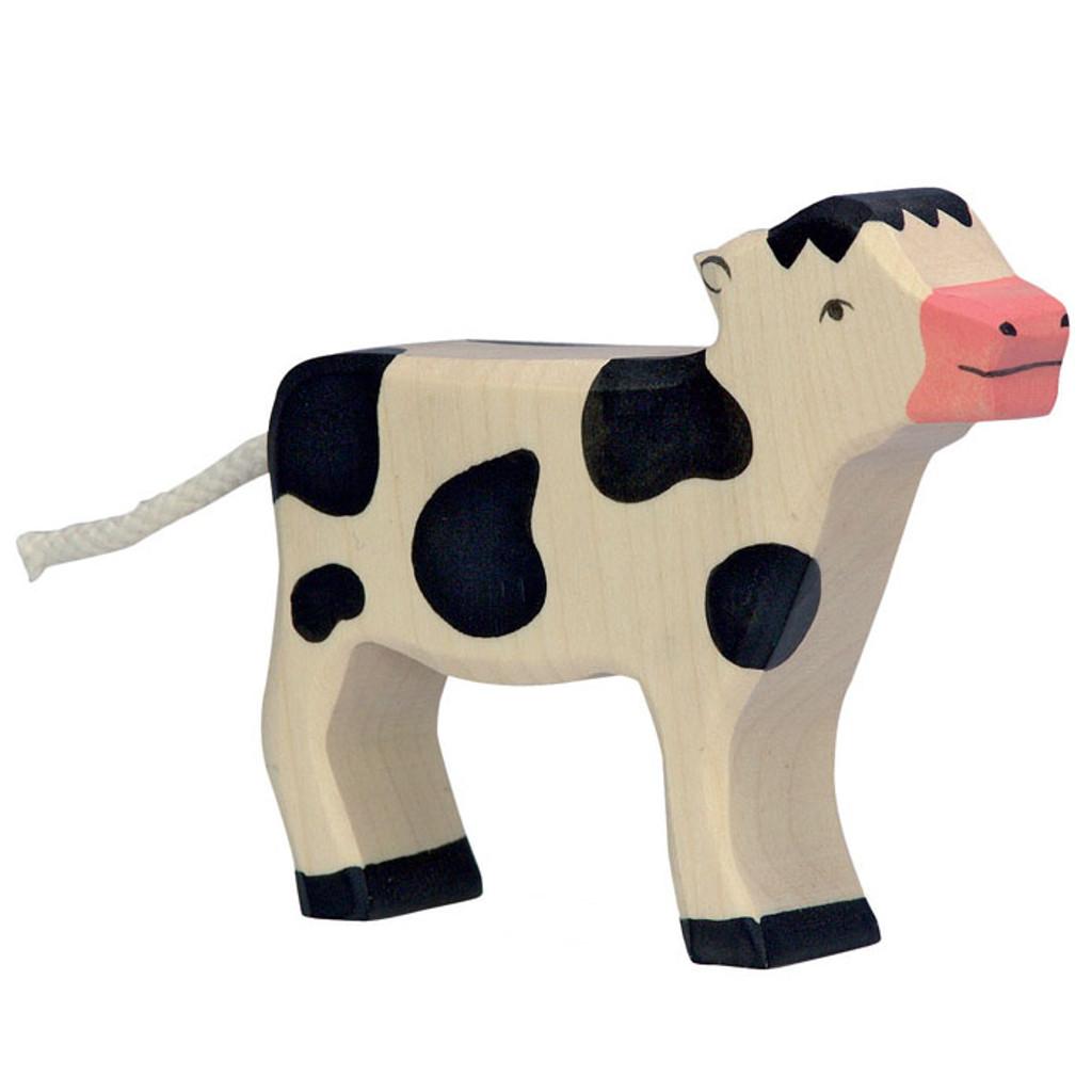 Calf Black Standing Holztiger