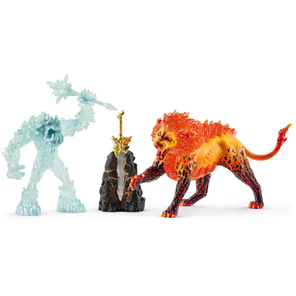 Schleich Secret Lava Temple with Super Weapon