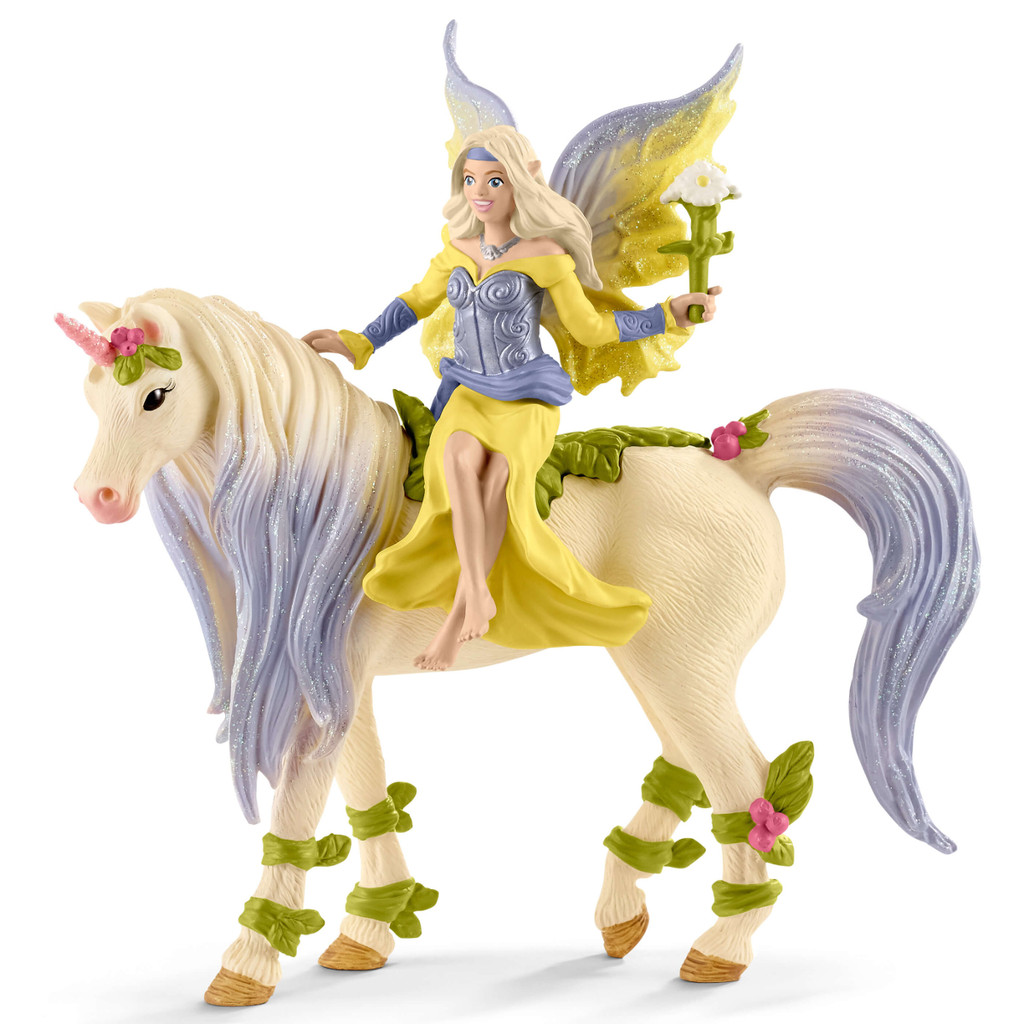 Schleich Sera with Blossom Unicorn