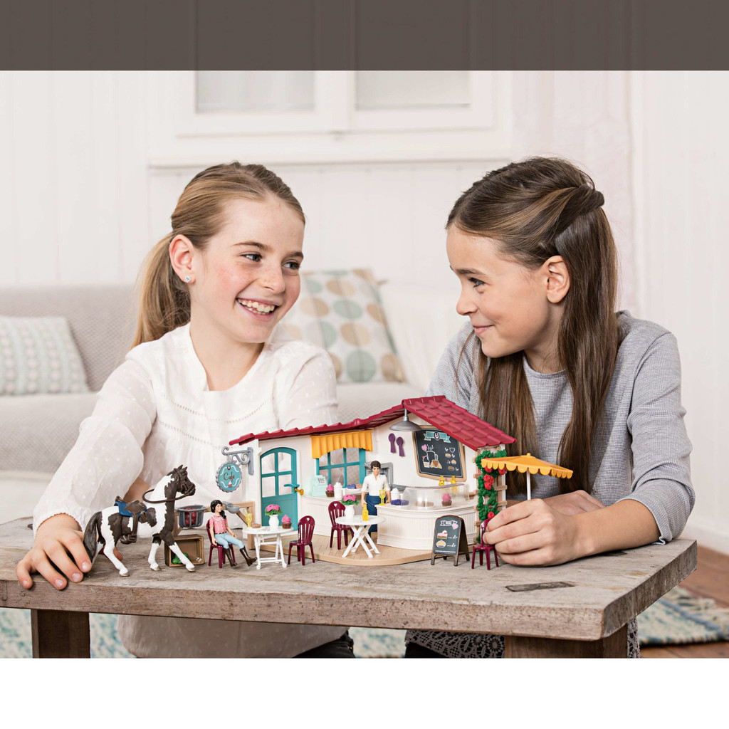 Schleich Horse Club Rider Cafe lifestyle