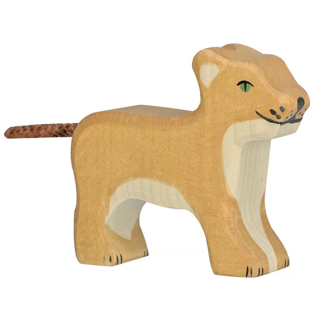 Lion Cub Holztiger
