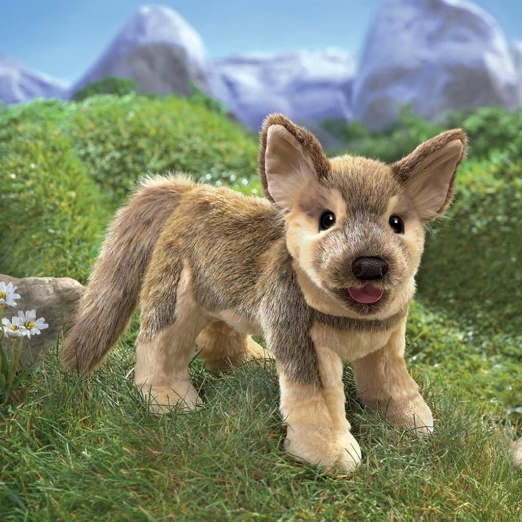 German Shepherd Puppy Puppet