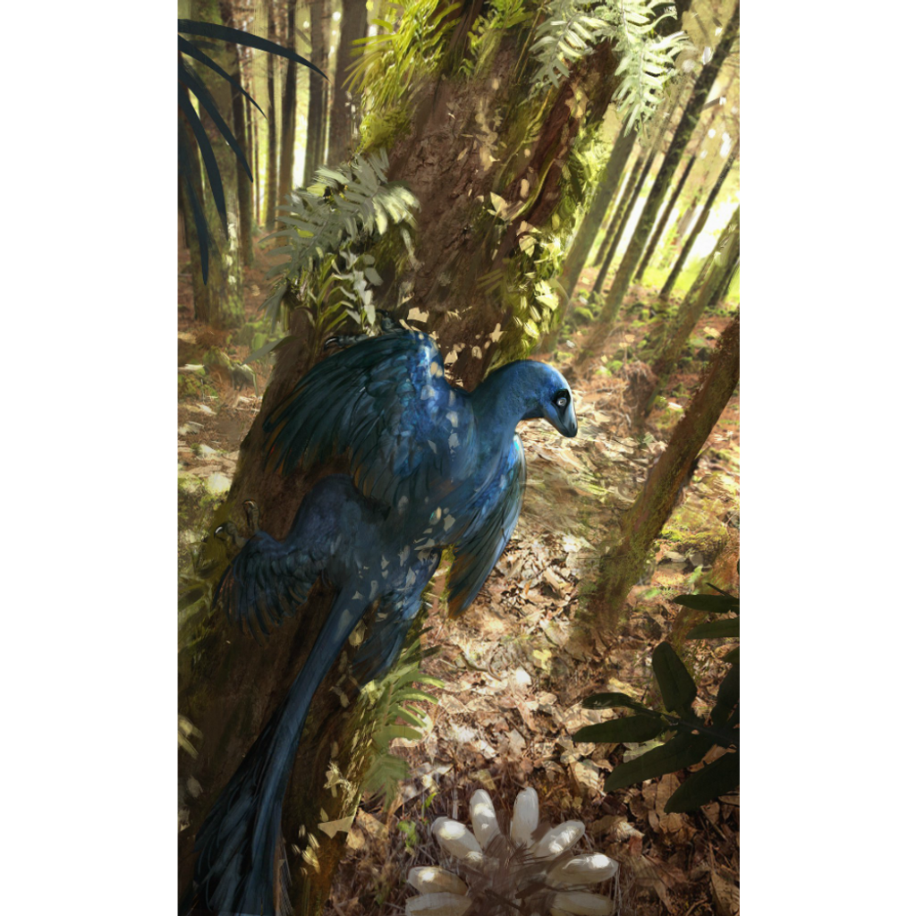 Forest Accessory Pack with Microraptor gui